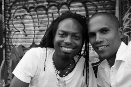 Nhojj & Mike Ibrahim in NYC 2008