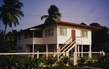Nhojj home in Guyana