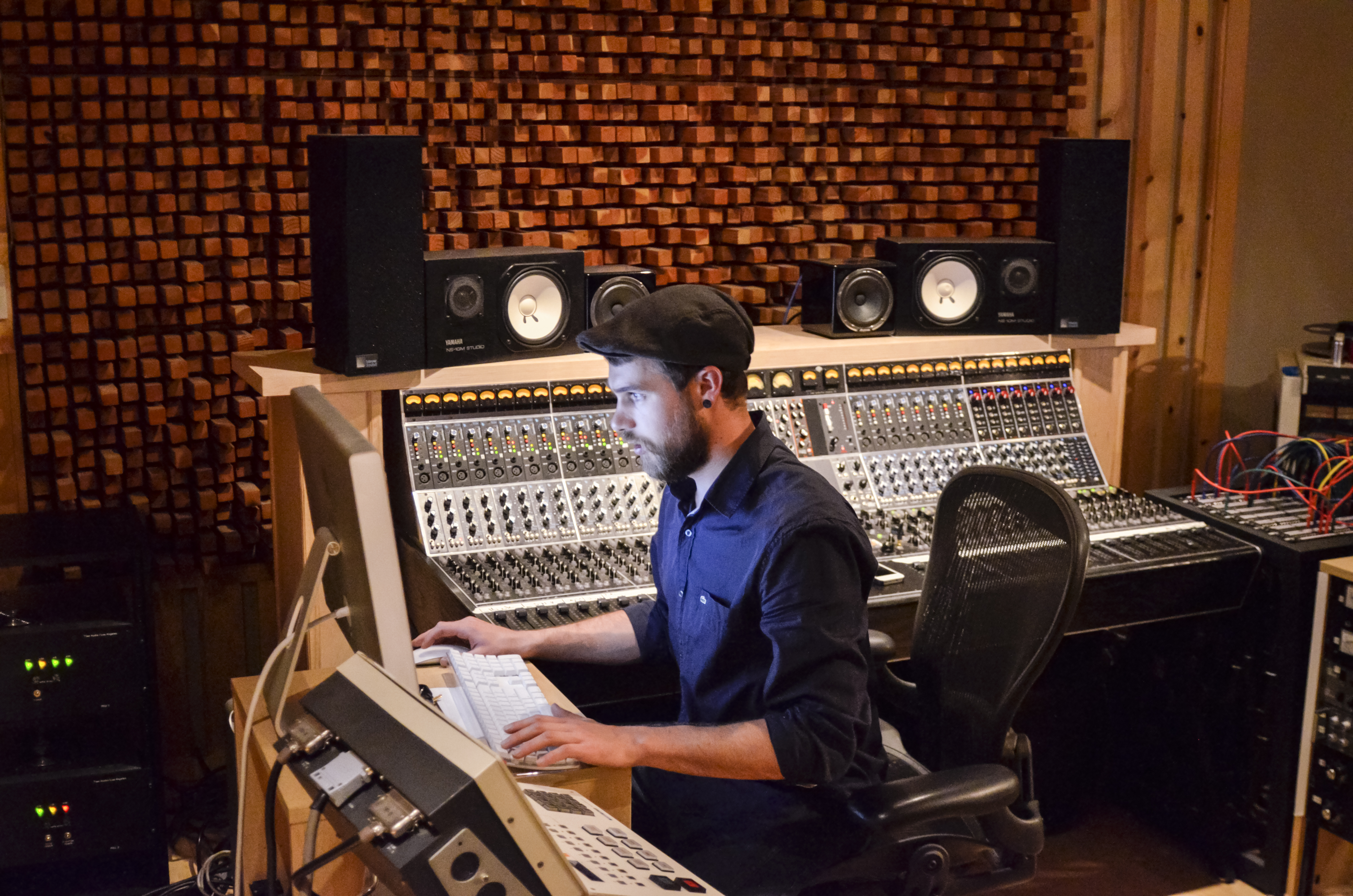 Recording Engineer Kevin Schinstock